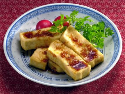 豆腐の甘酢ソースかけ 2人分【しっかりもめんを使ったレシピ】