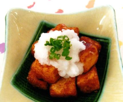 豆腐のおろし焼き 3~4人分【かたもめんを使ったレシピ】