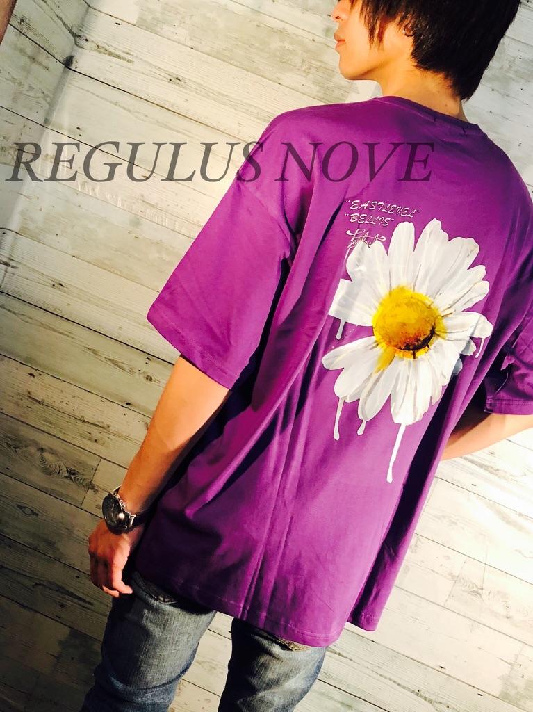 【REGULUS NOVE】DAISYプリントBIG Tシャツ