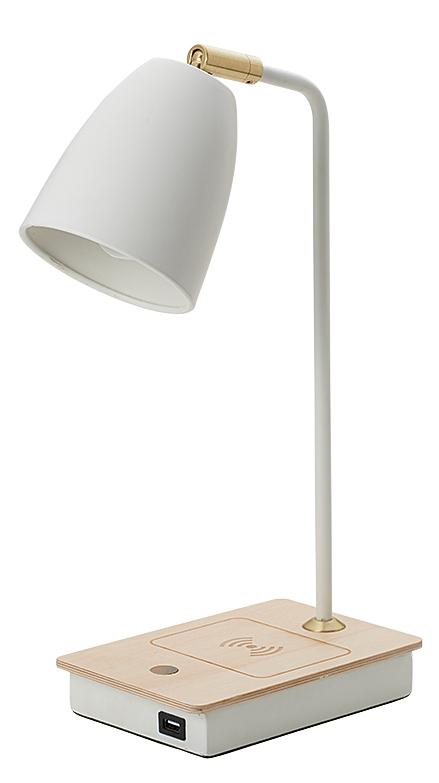 在宅ワークにも最適なワイヤレス充電機能付きテーブルライト
