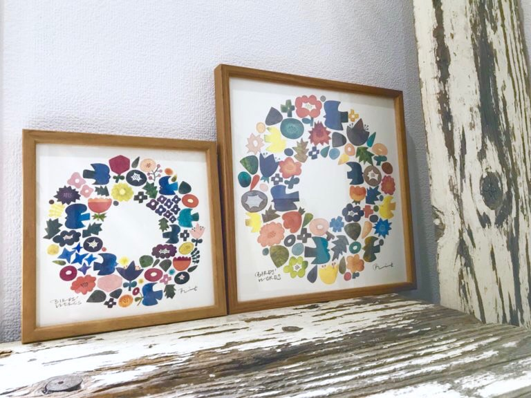 優しいデザインに癒される ♪ BIRDS' WORDS バーズワーズの壁飾り。