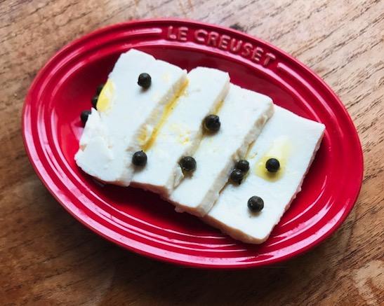 まるでチーズ!アレンジ自在の豆腐の塩糀漬け