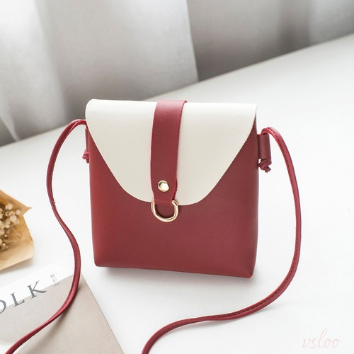 シンプル斜め掛け切り替えバッグ、10種類からお好きなカラーを選べる!