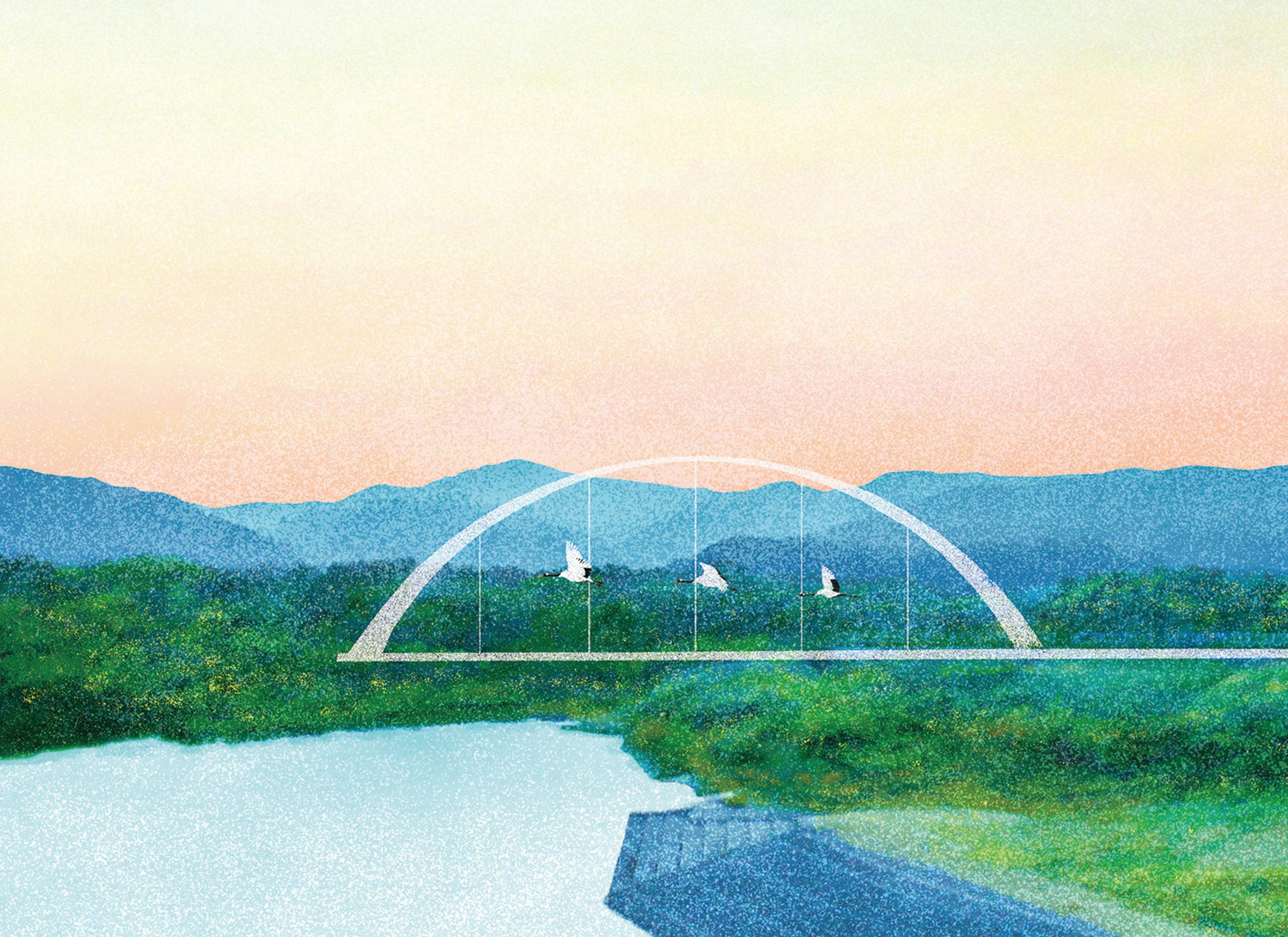 【本日の21時より発売開始】釧路の阿寒町の景色を描いた商品たち