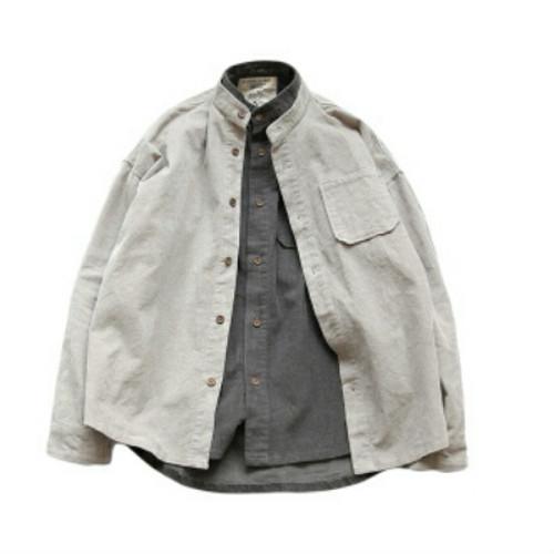 ハイネックシャツ!色気より落ち着きおすすめアイテム
