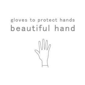 beautiful hand series  オリジナルロゴ入りグローブ専用巾着袋 入荷!