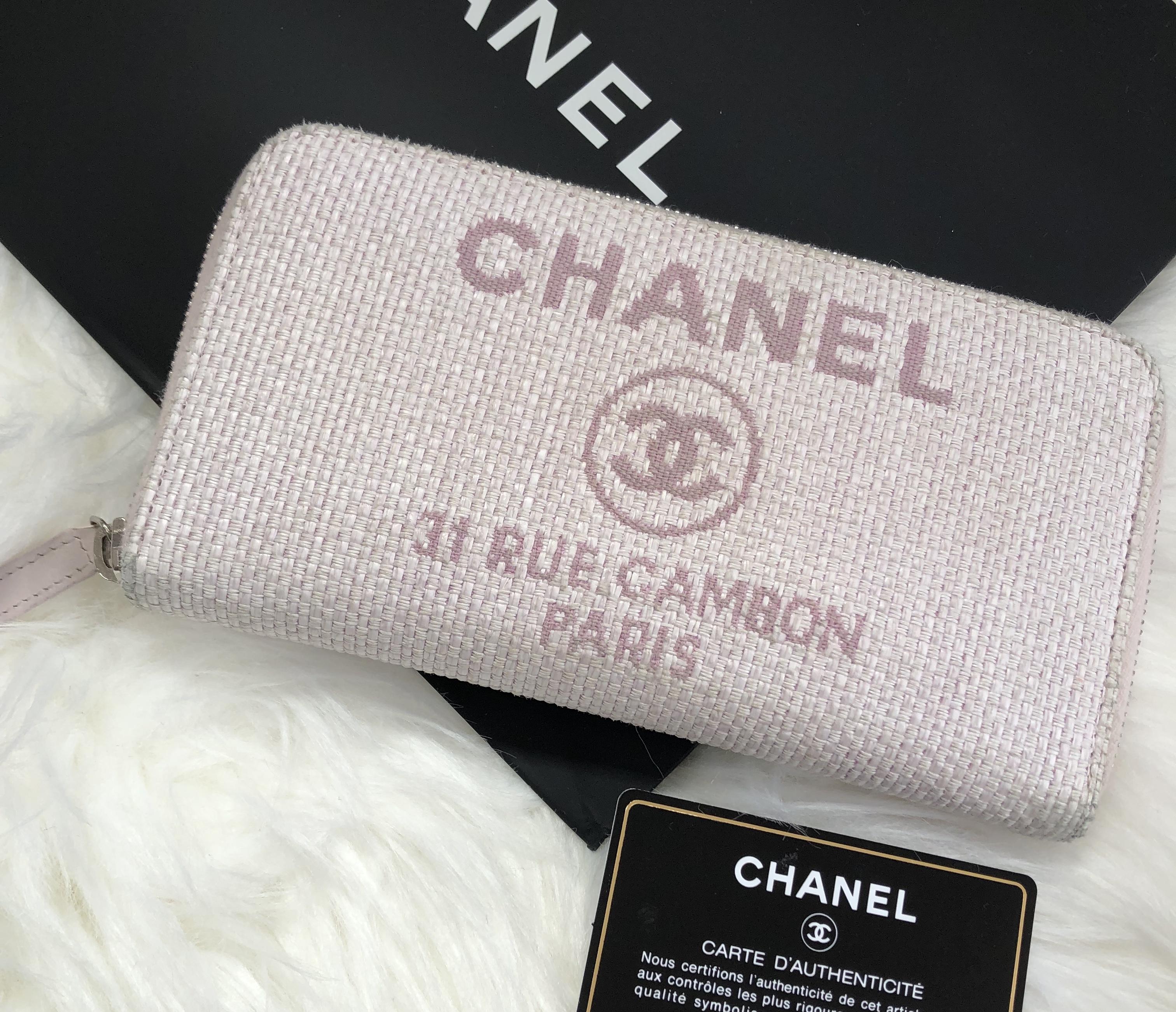 CHANELシャネルの人気ライン・ドーヴィルが入荷♡カジュアルだけど上品♫シャネル財布販売♥︎
