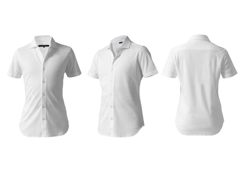 【真夏をクールに乗り切る】日本製デッコーロウォモが誇るスポルディーヴァでエレガントな半袖ドレスシャツ