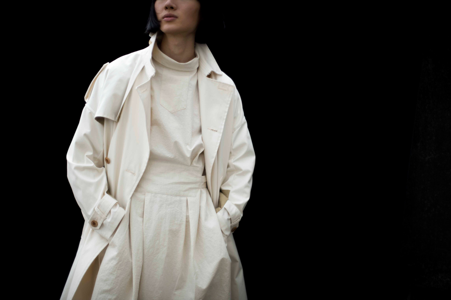 Convertible trench coat