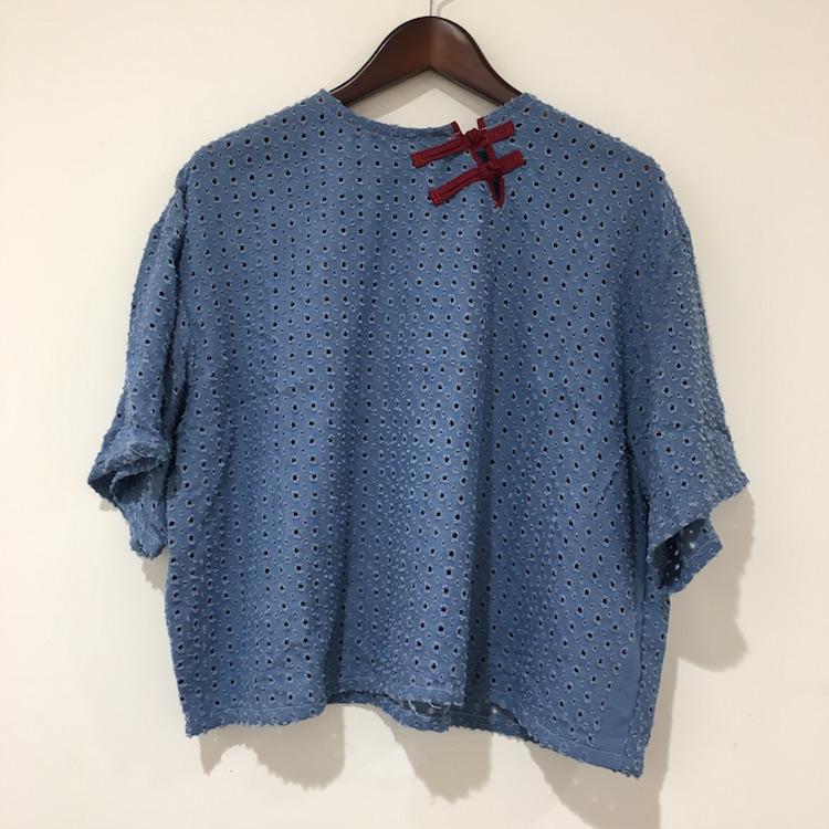 【+R】Tシャツ感覚で着れるチャイナボタンのトップスが新登場