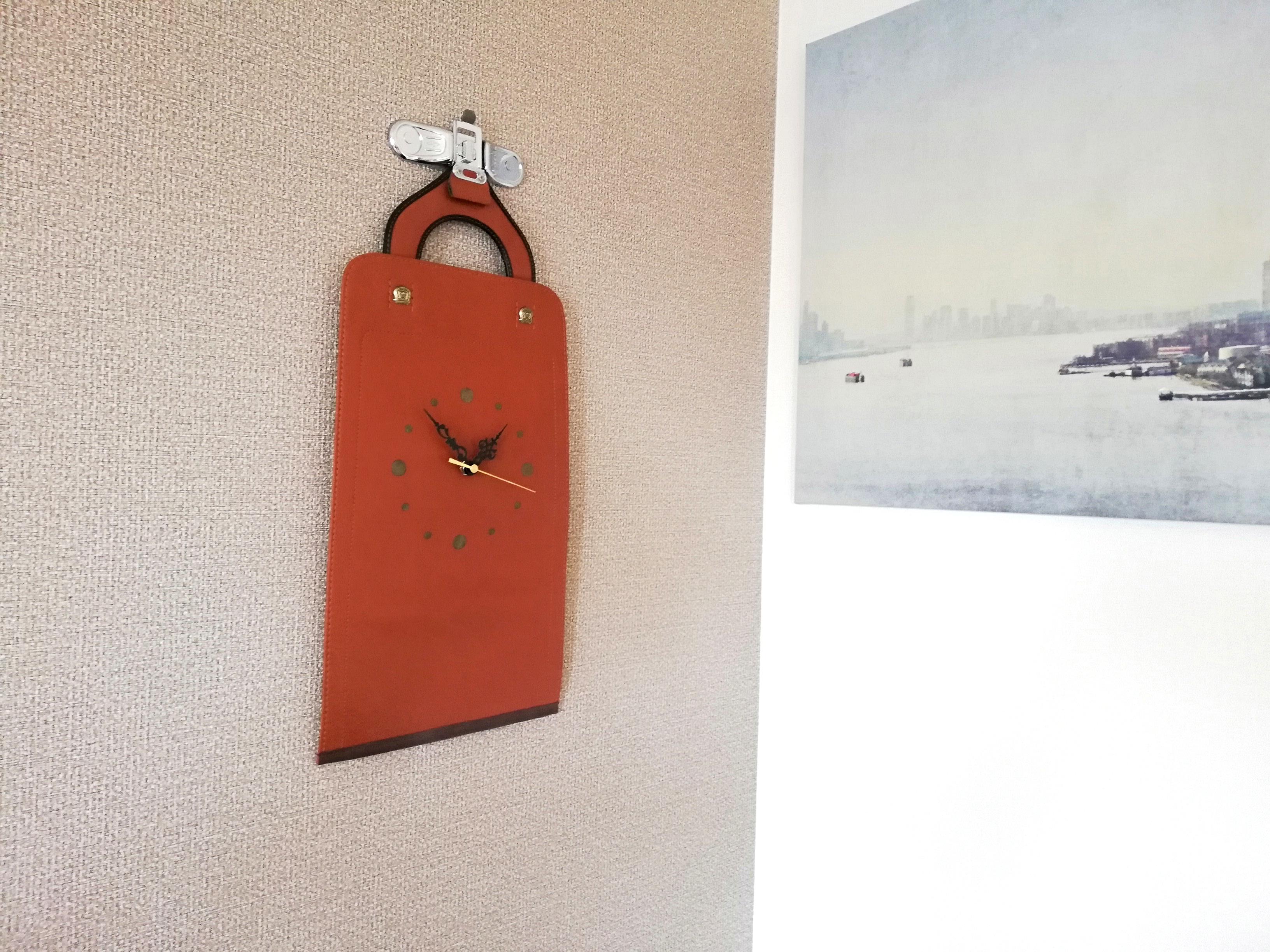 ランドセルのアップサイクル時計「Wall Clock」がリリース!