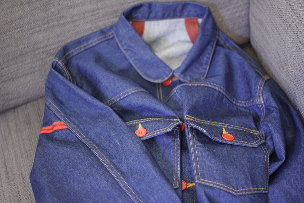 PG1S DENIM JACKET