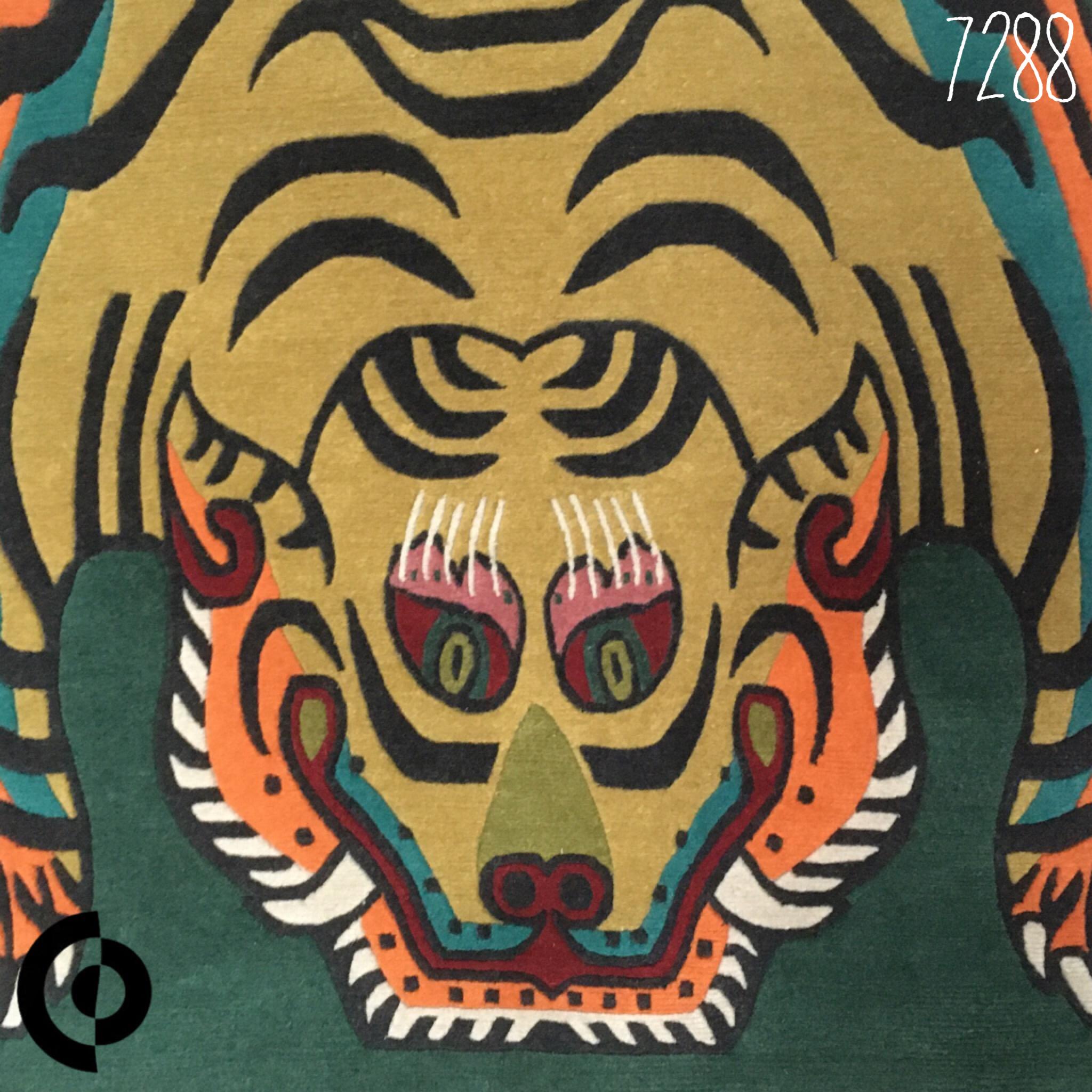 ネパール産チベタンタイガーラグの販売再開のお知らせ。【TIBETAN TIGER RUG WOOL】