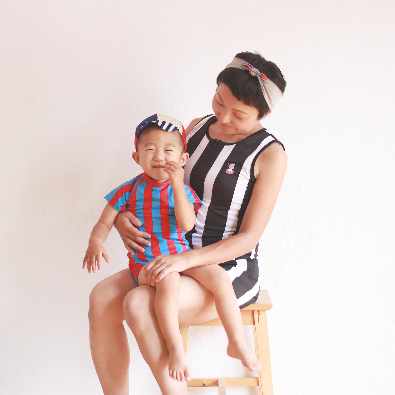 ママにも赤ちゃんにも優しい水着。秋からベビースイミングを始めませんか?
