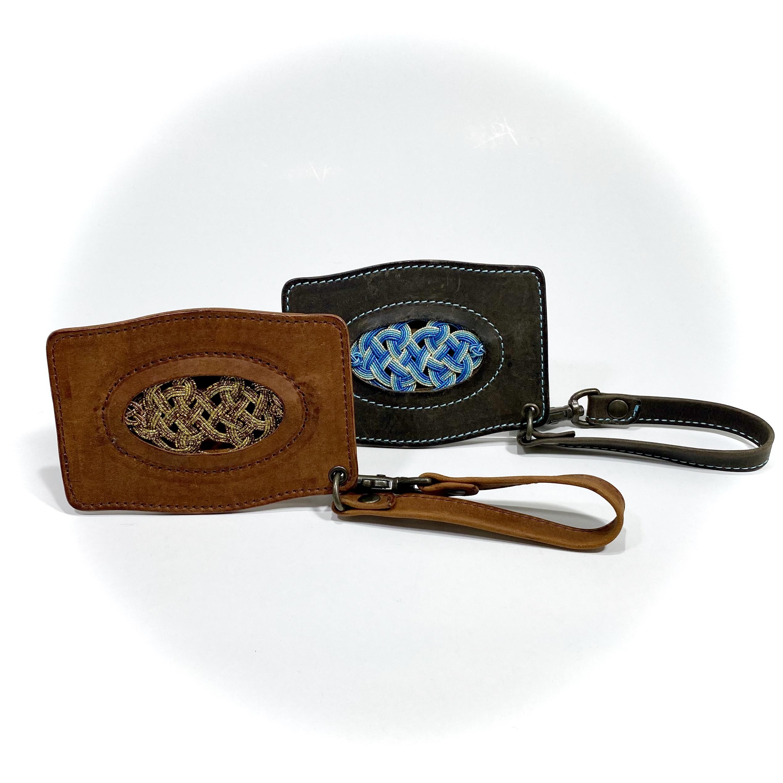 父の日にオススメ‼︎ 水引×革のパスケースで他にないプレゼントを贈りませんか⁇