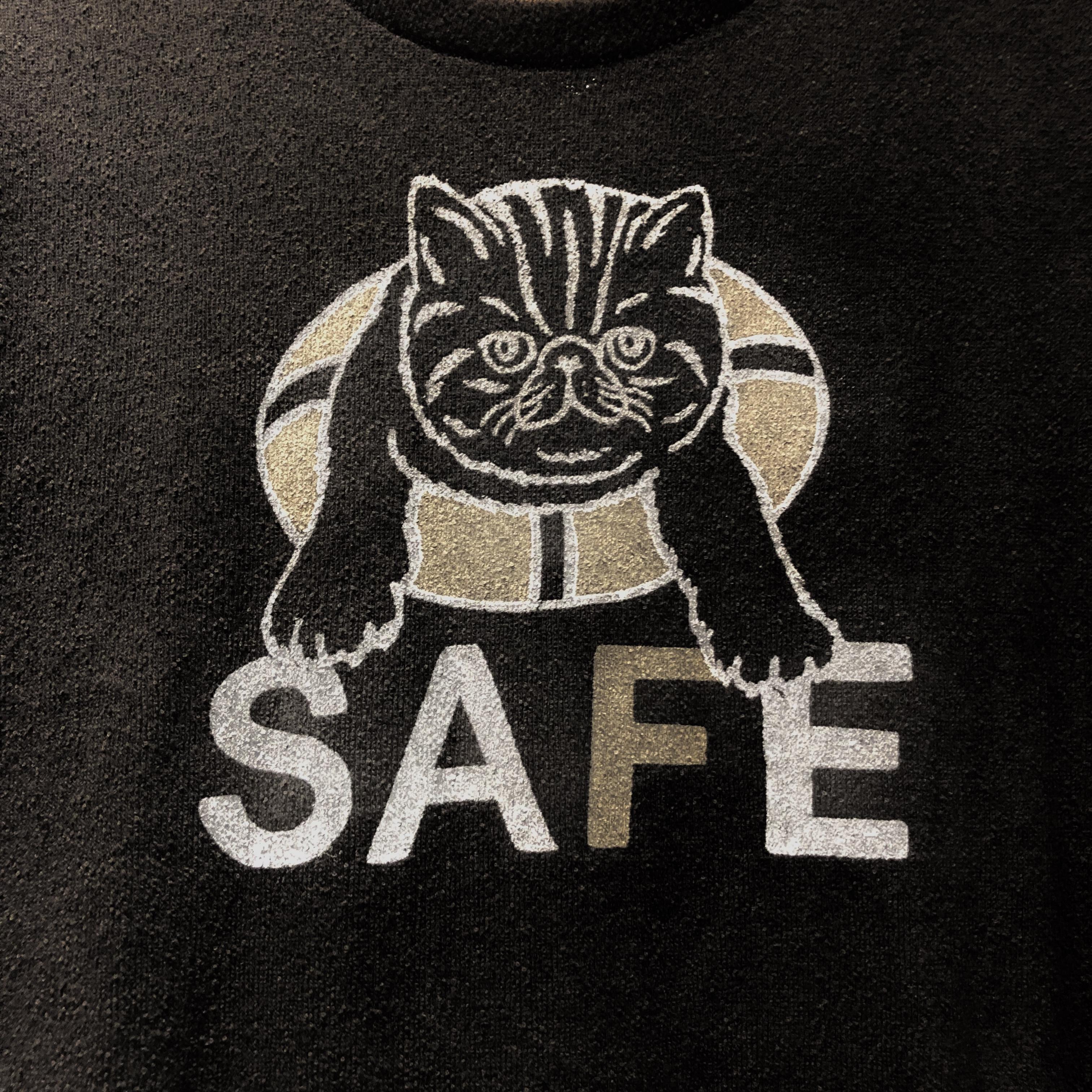 【ふわふわ♪タオルT】猫好きにはわかる、このプリントの良さ 笑