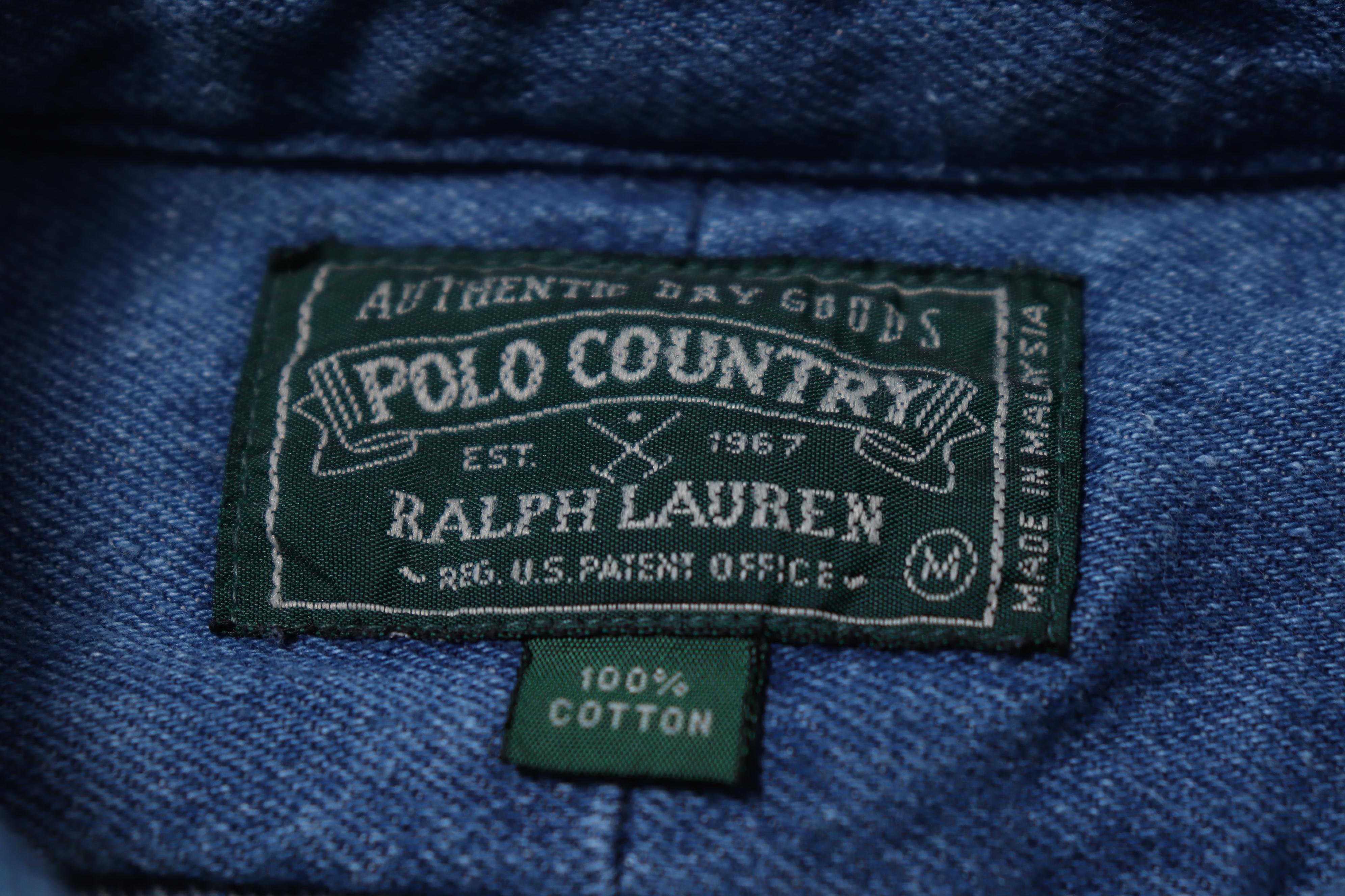 僅か4年のみ製造された名作【POLO COUNTRY】。当時のデッドストック!!