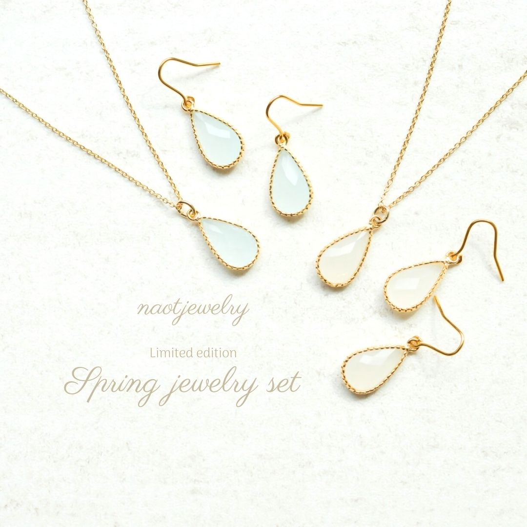 naotjewelry -春に魅せる-4月期間限定 2021 Spring jewelry set