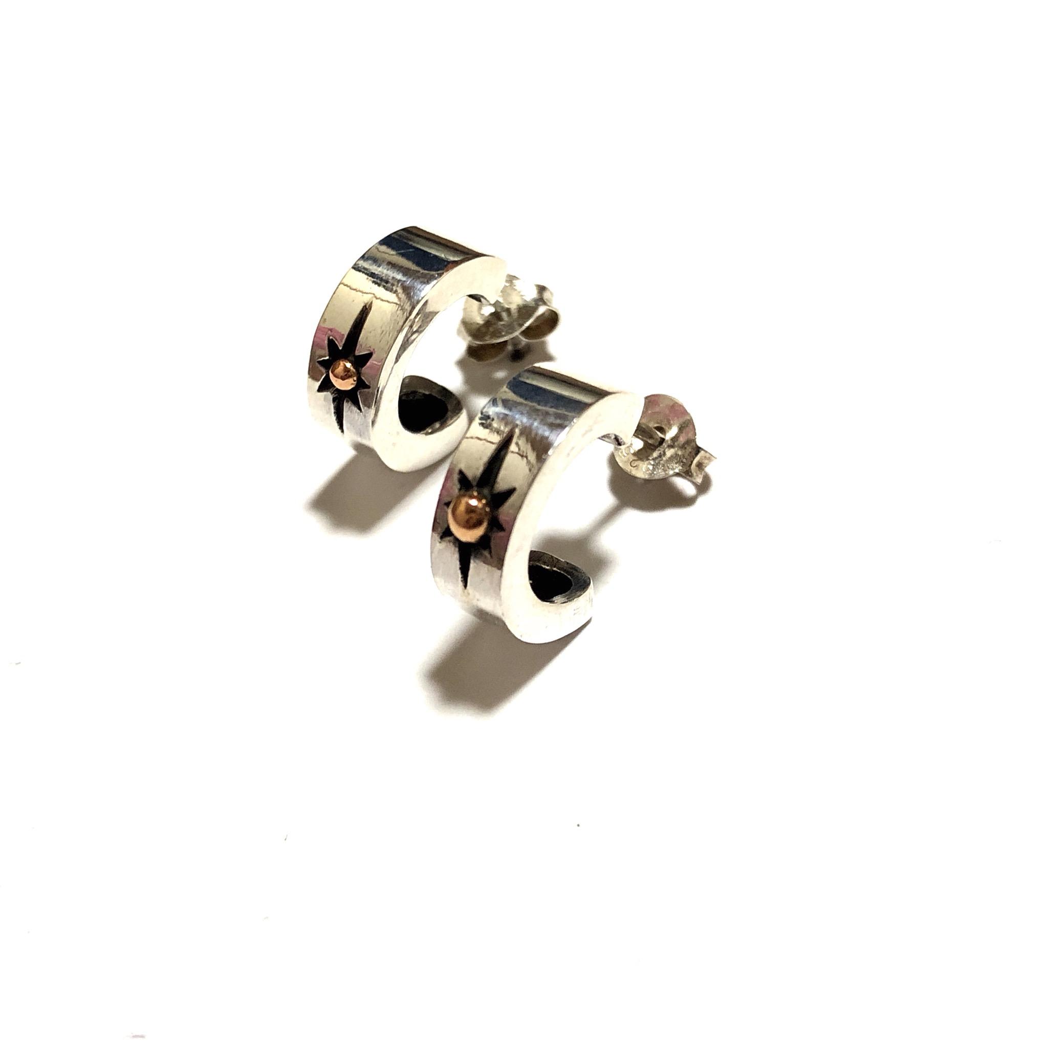 耳元を飾るネイティブアクセ シルバー925 ピアス サンマークの登場