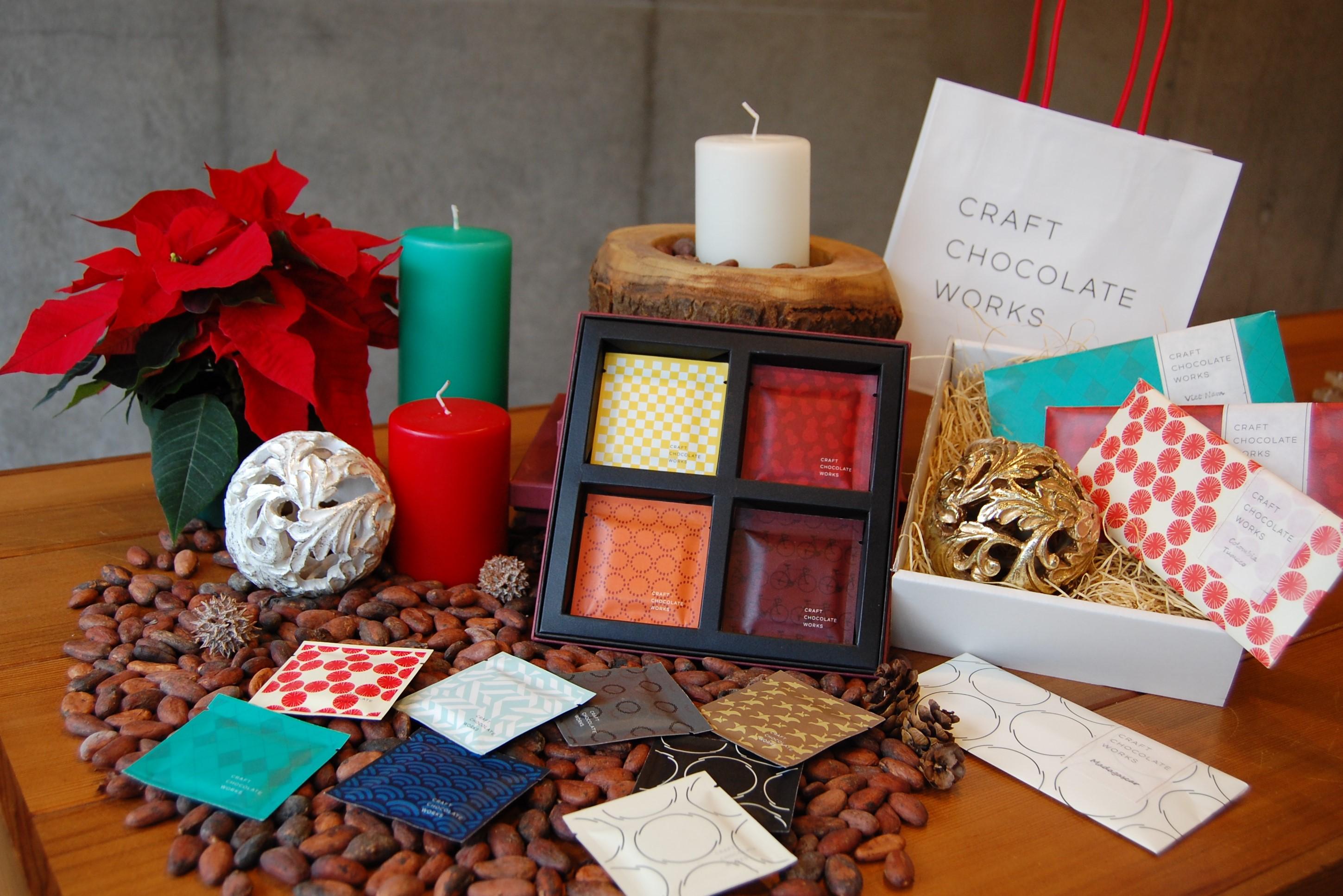 クリスマスカラーで選ぶチョコレート