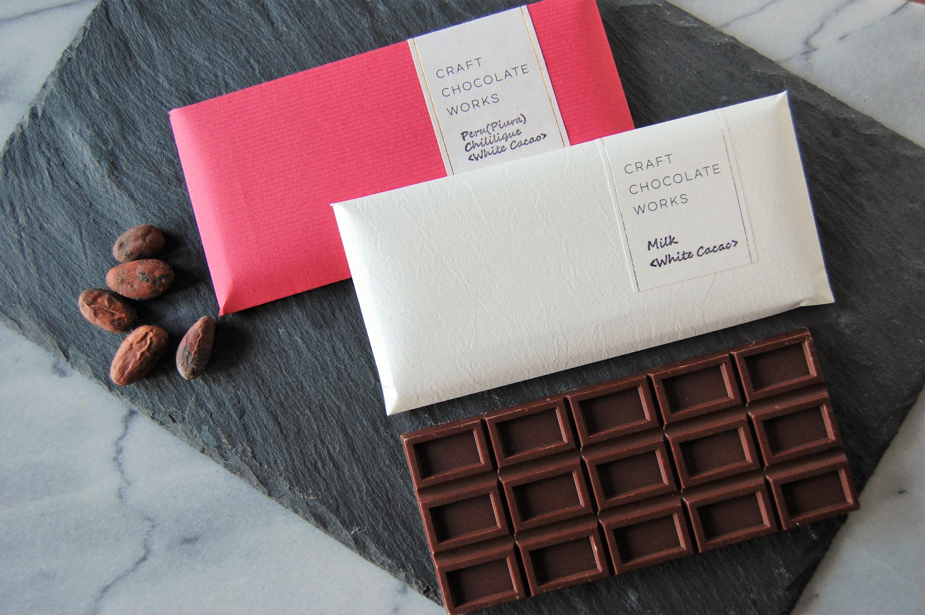 バレンタイン限定チョコレート!希少な『ホワイトカカオ』登場。
