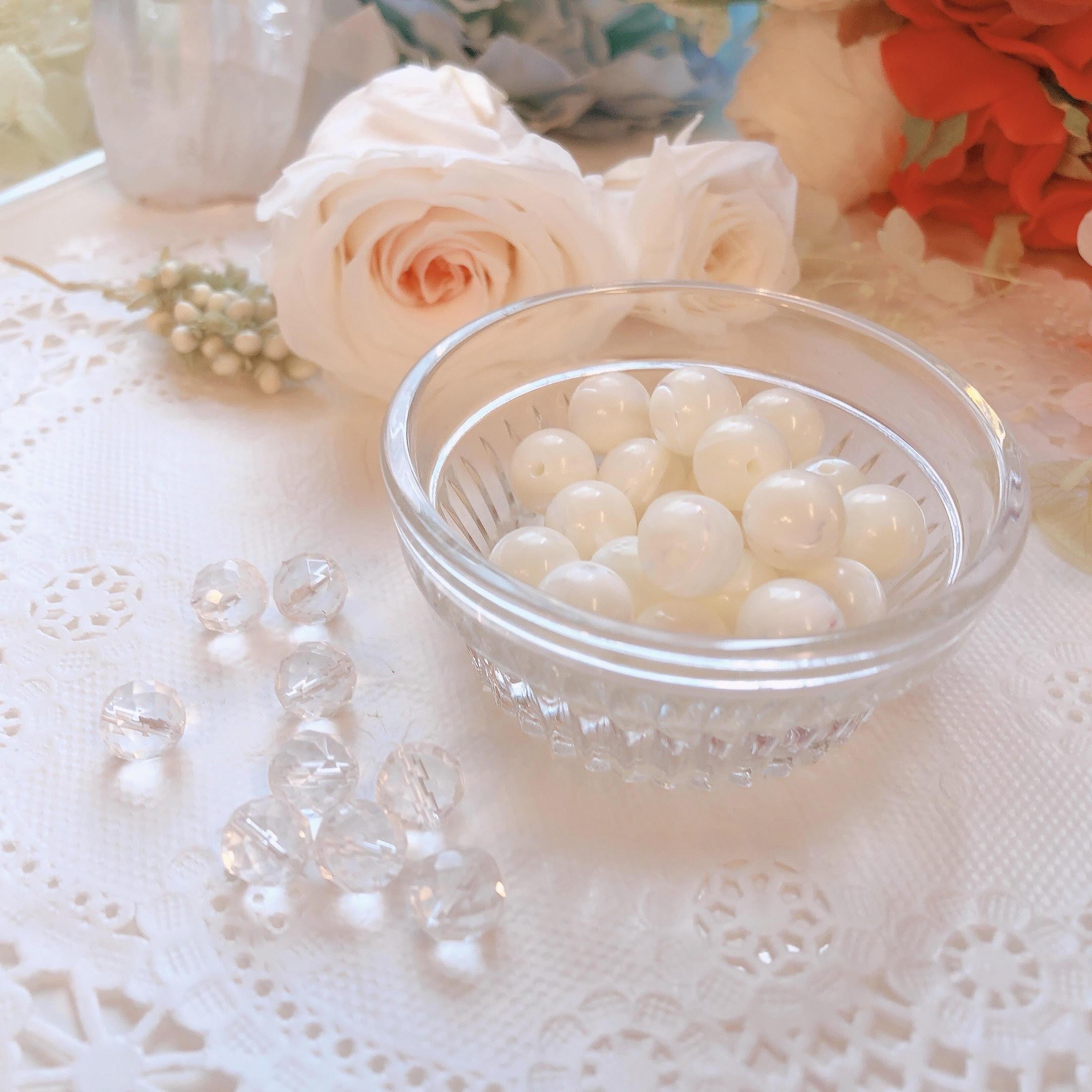 真珠の母貝!マザーオブパールのブレスレット
