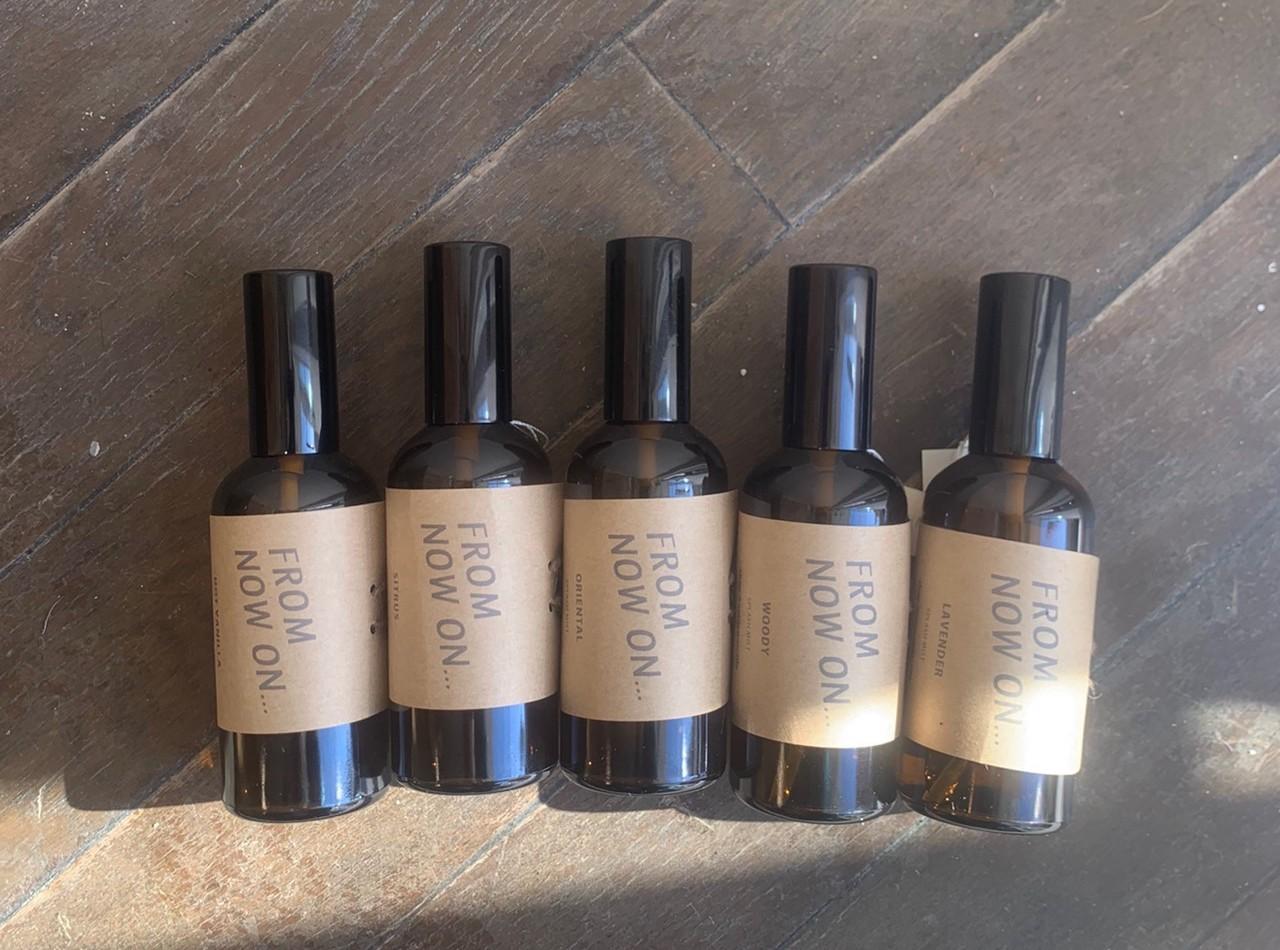 植物性発酵アルコール・オーガニック精油・水のみで作ったスプラッシュミスト