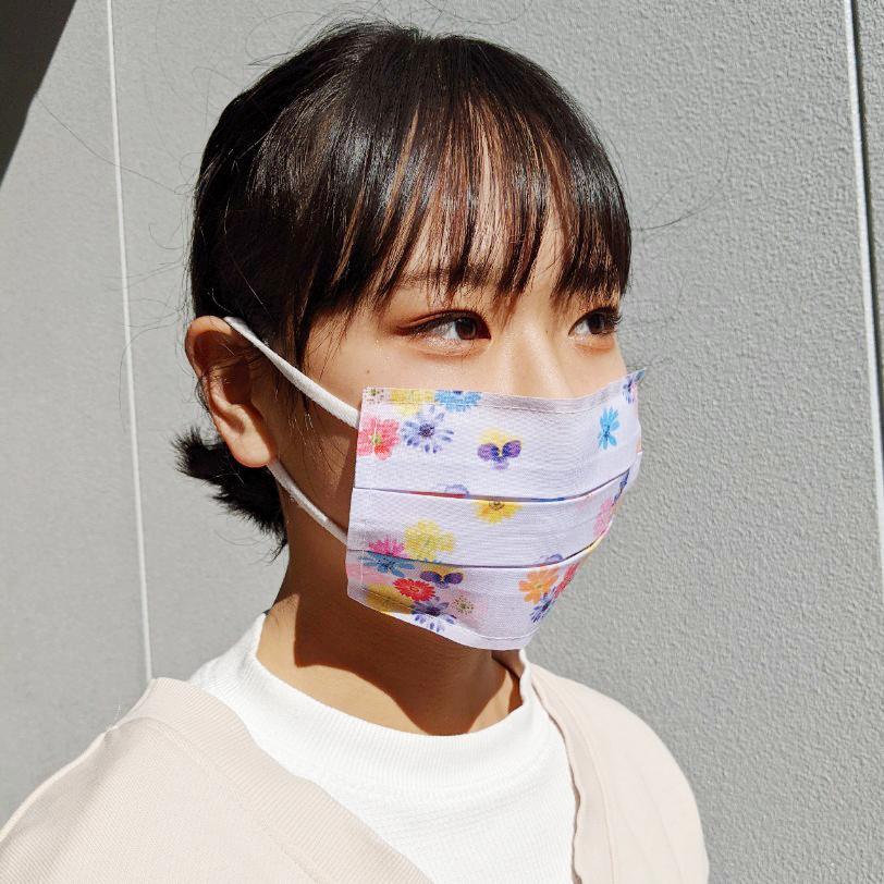 【不織布マスクを可愛くしたい貴方に!】いつものマスク姿がオシャレに変身❤︎マスクカバーnaamio