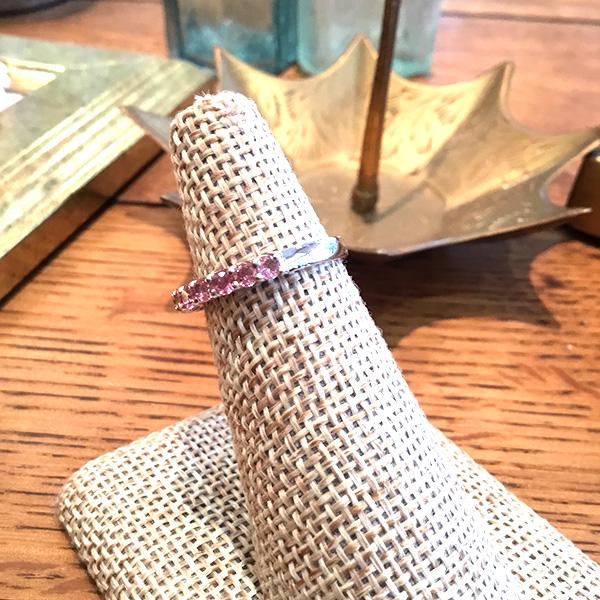 10月の誕生石でプレゼントに最適!ピンクトルマリンのデザインリングのご紹介!