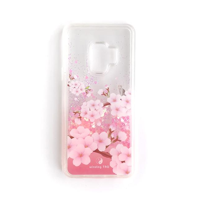 キラキラと舞う花びらが華やか!桜のグリッターケース