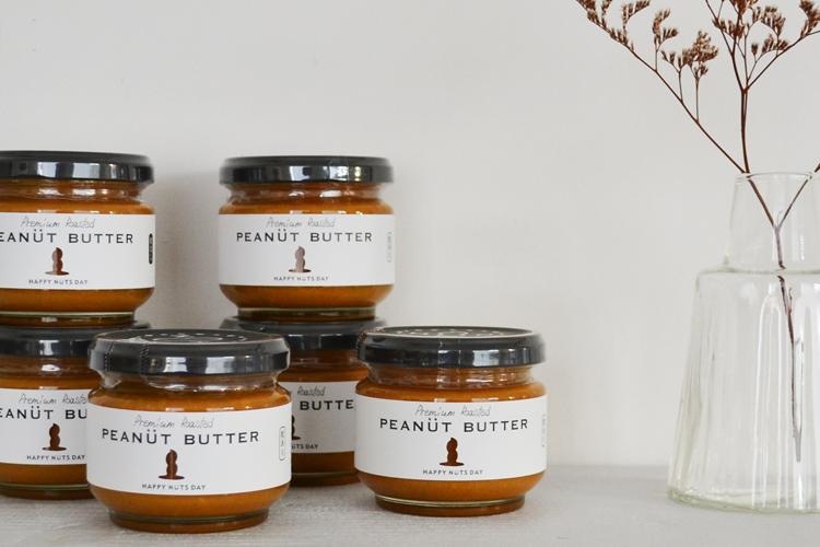 HAPPY NUTS DAY - PEANUT BUTTER (ピーナッツバター)