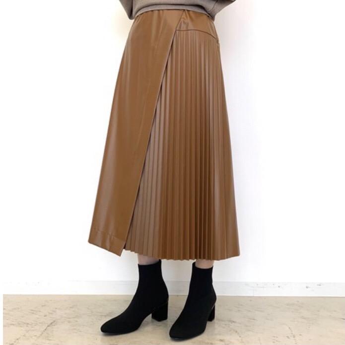 くぎ付け★エコレザースカート