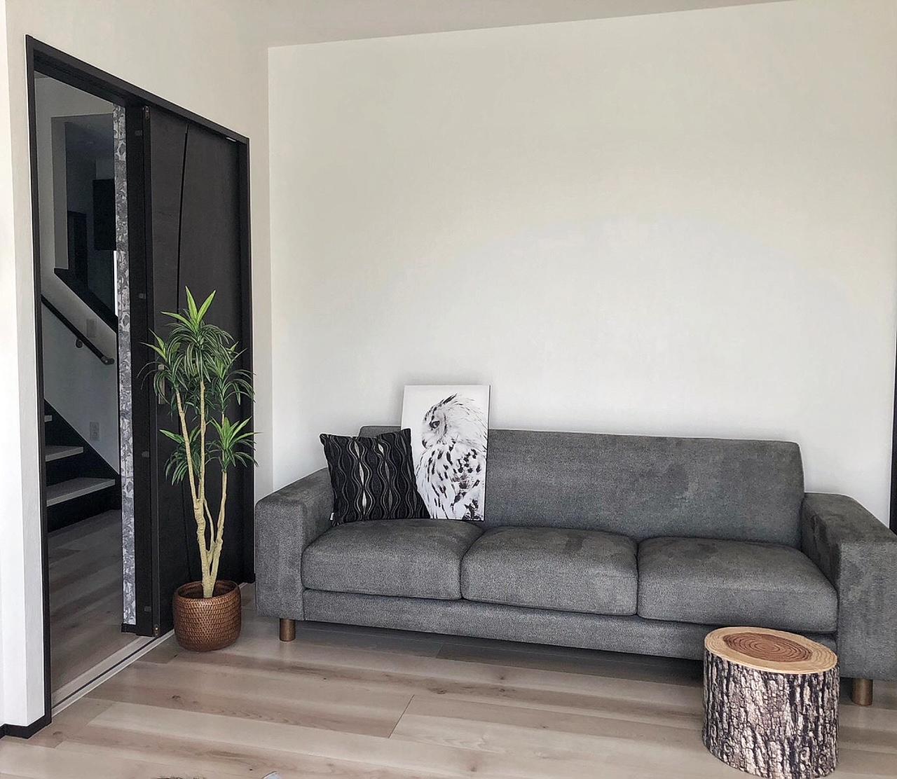 お客様のソファのあるお部屋ご紹介⑩―BASE3Pソファ