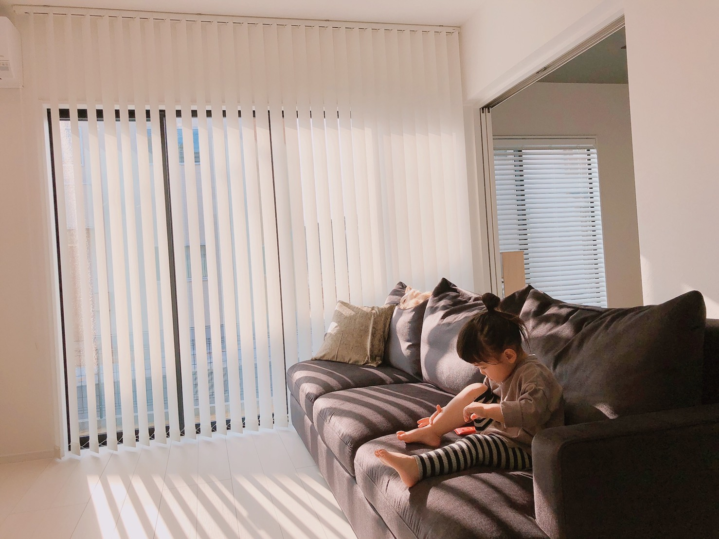 お客様のソファのあるお部屋ご紹介⑦―BLISS3Pソファ