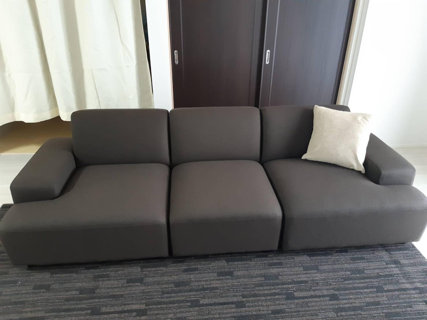 お客様のソファのあるお部屋ご紹介⑥―RE3Pソファ