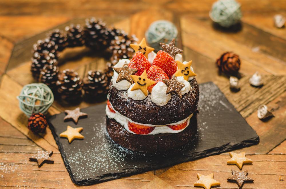【Xmas限定】手作りケーキを簡単飾り付け!おうちで楽しむホリデーギフト