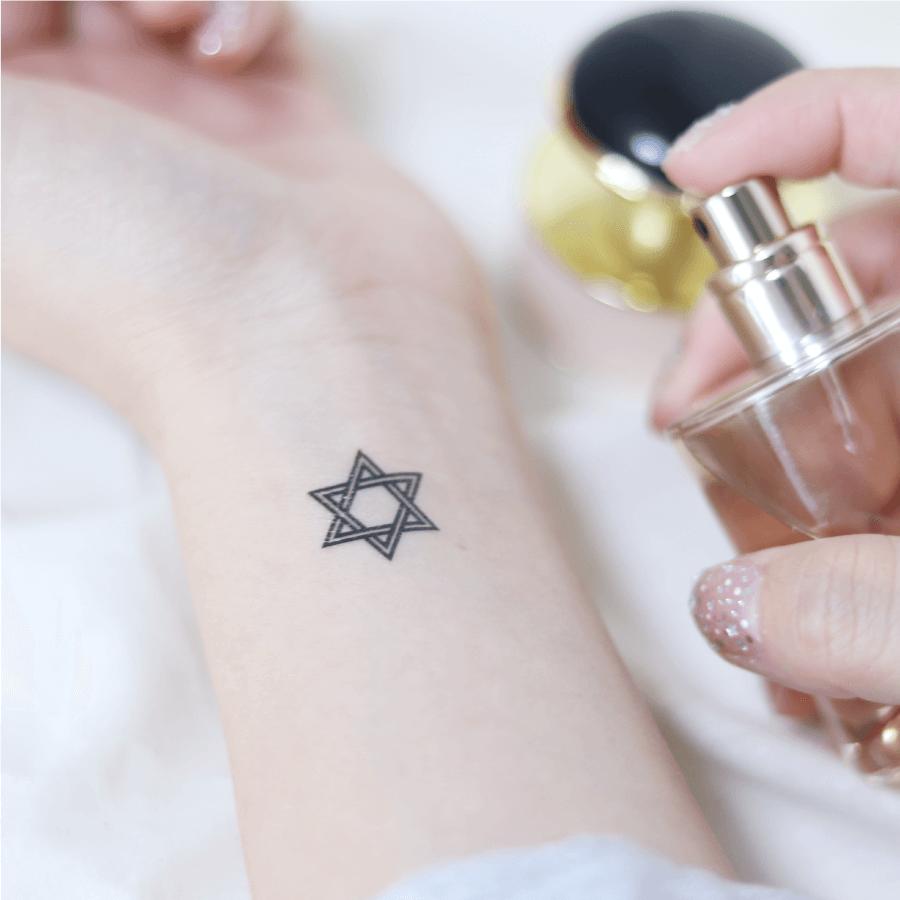 POP Star 星 タトゥーシール (感性デザイン)