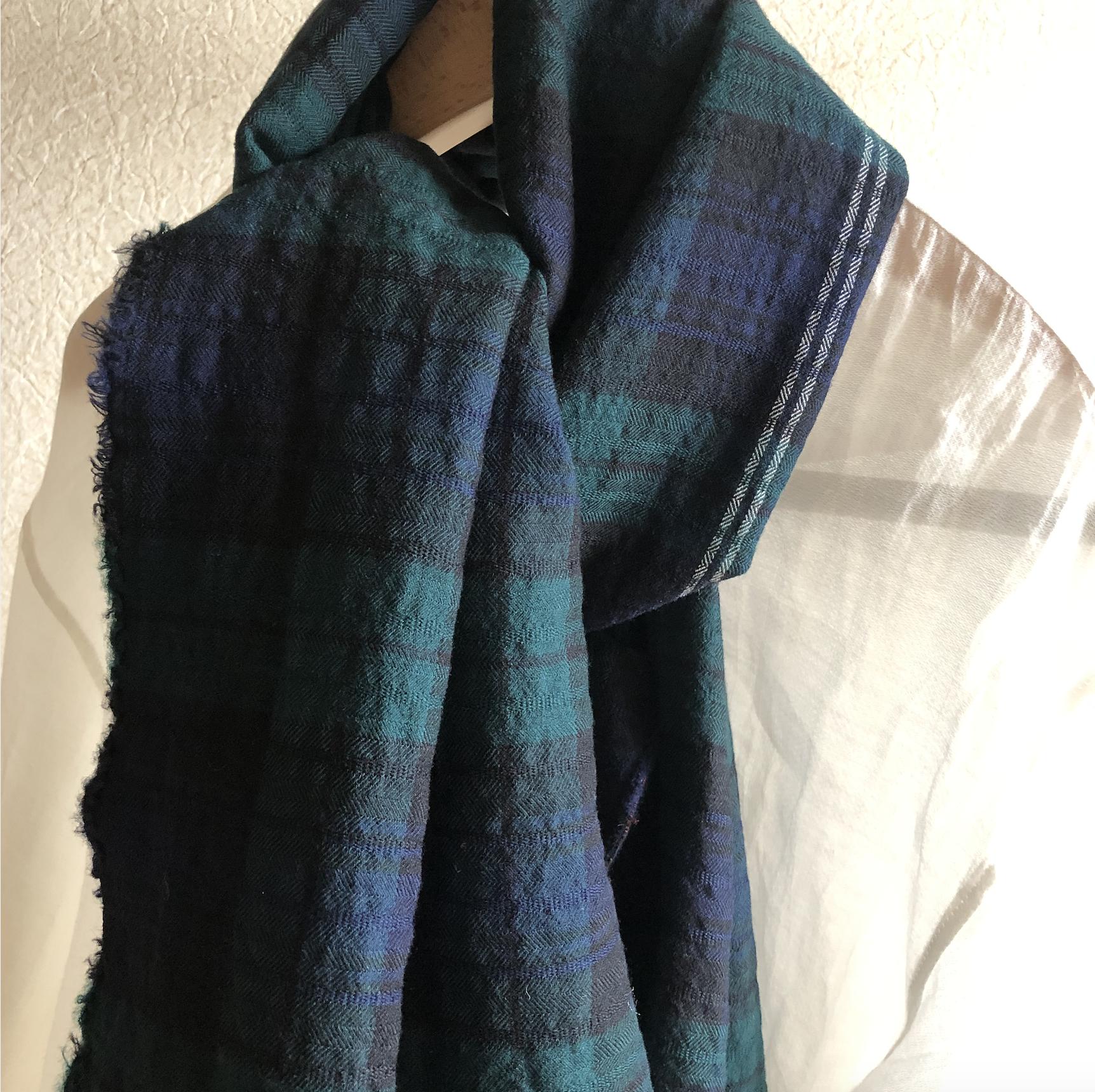 【秋冬新商品】Masnou design(マスノウデザイン)のストールが入荷しました!