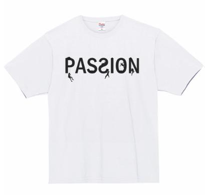 [PASSION] 7.4oz スーパーヘビー Mountaineer Tシャツ[ホワイト]