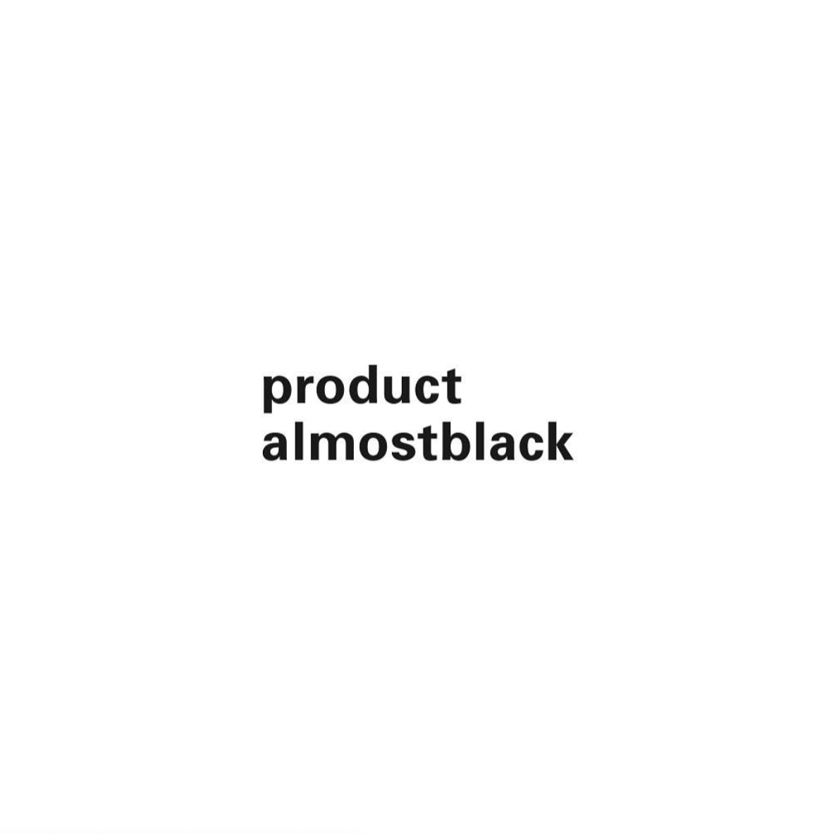 COAT -product almostblack-
