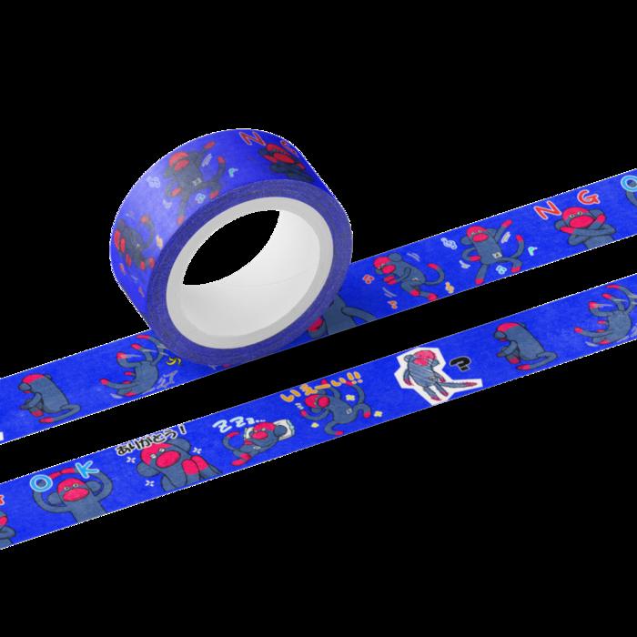 おのくんといっしょにおのくんのマスキングテープ作ってみない?