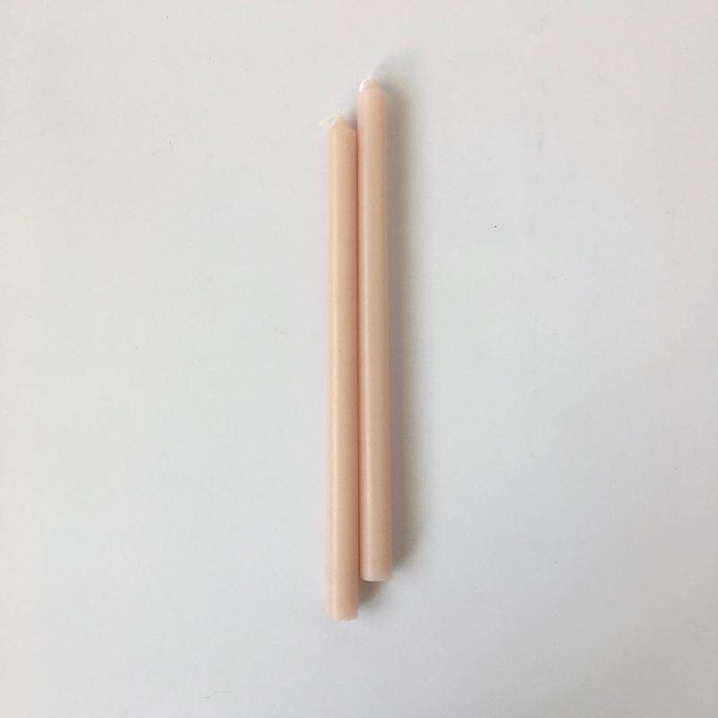 細長いキャンドル (ピンク)|Slimline Pink Candle