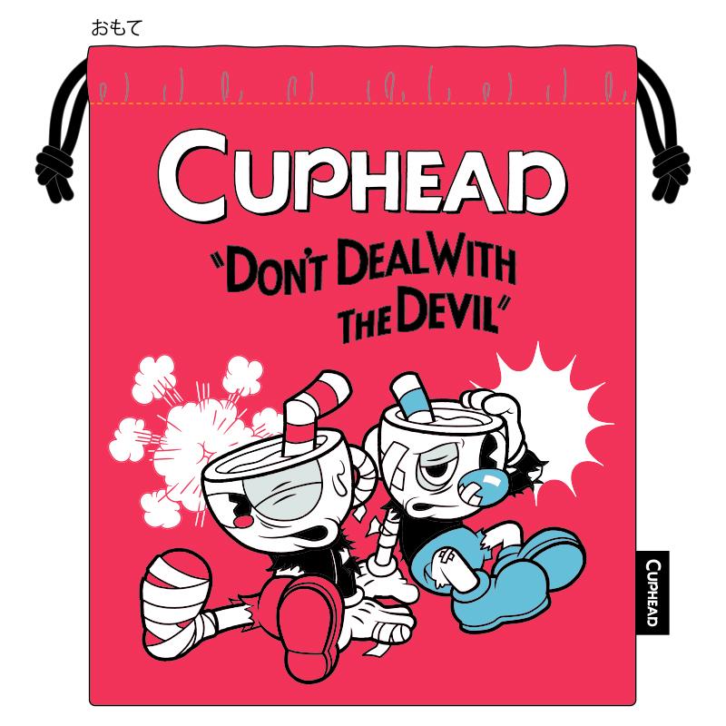 CUPHEAD ( カップヘッド ) 巾着 ② WALLOP!  / エンスカイ