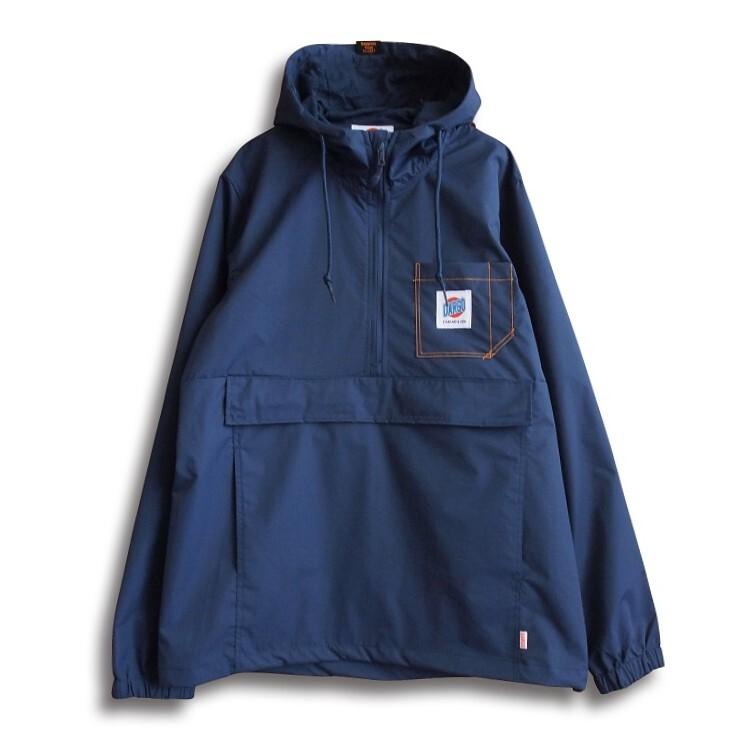 【DARGO】Working Pocket Anorak Jacket (NAVY)