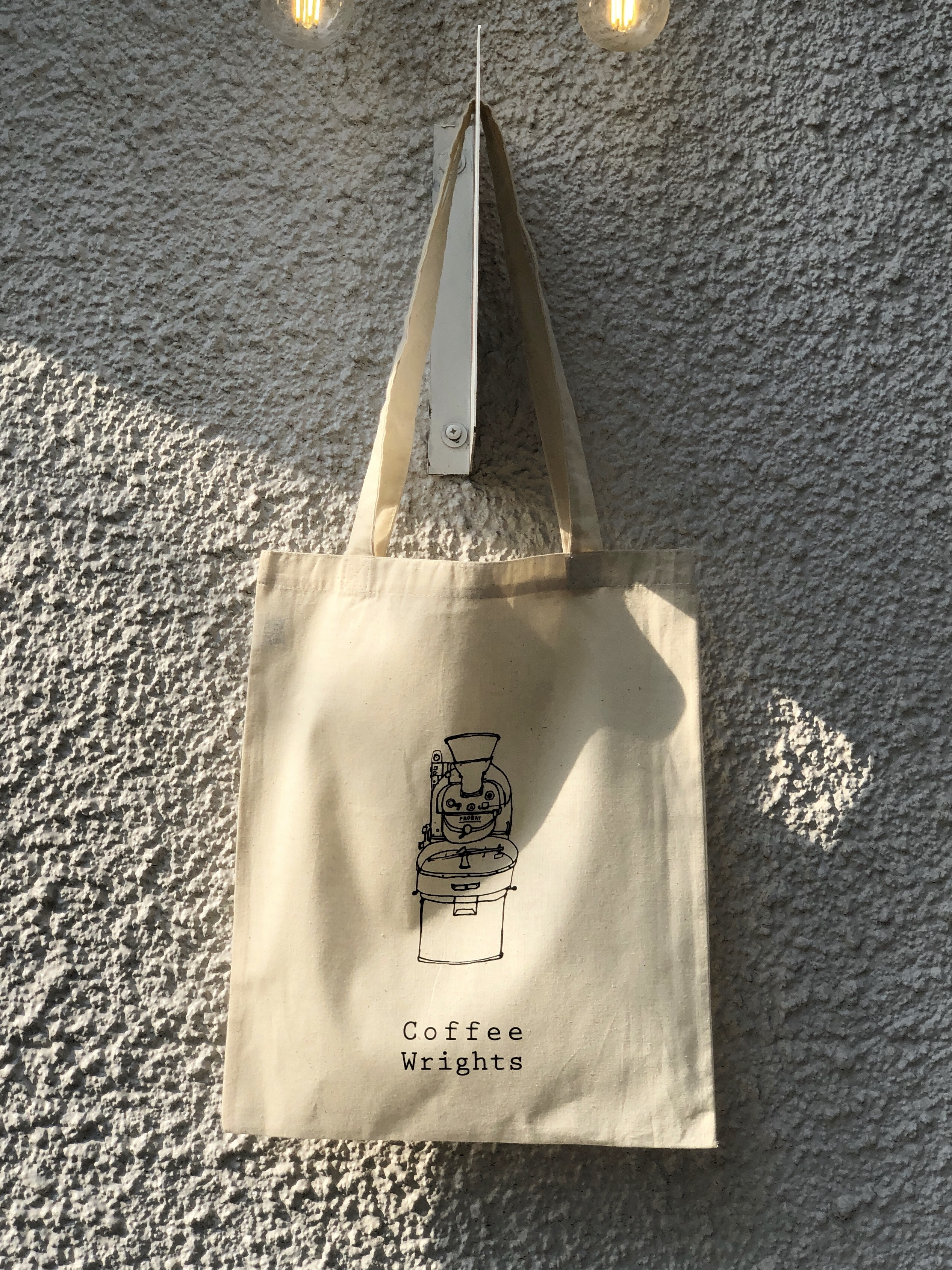 *Coffee Wrights Tote Bag / オリジナルエコバッグ