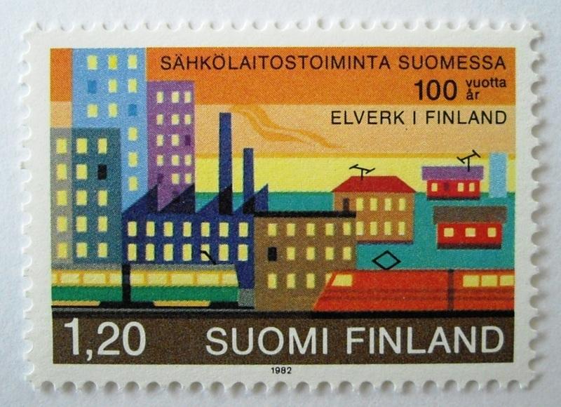 発電所100年 / フィンランド 1982