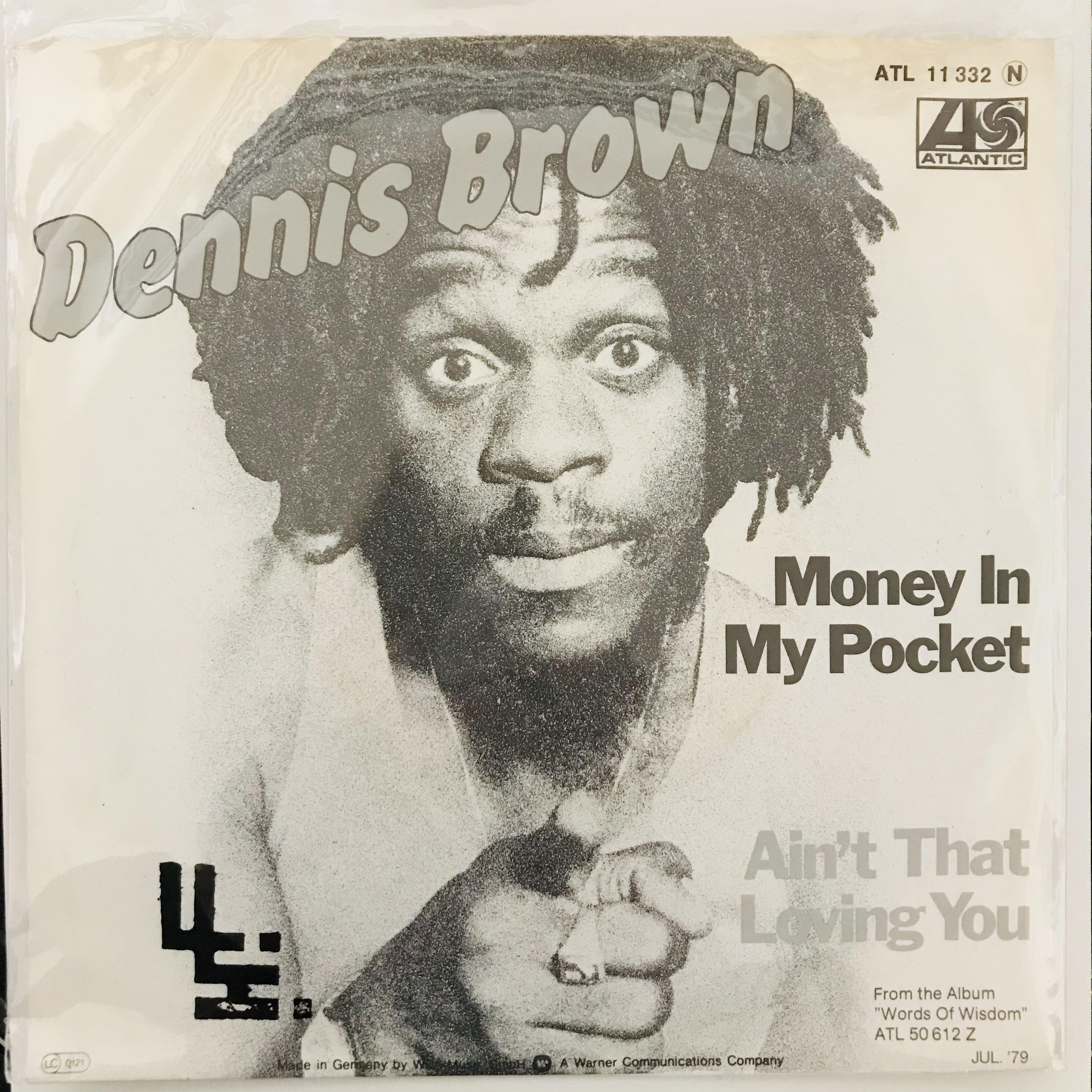 Dennis Brown - Money In My Pocket【7-10960】