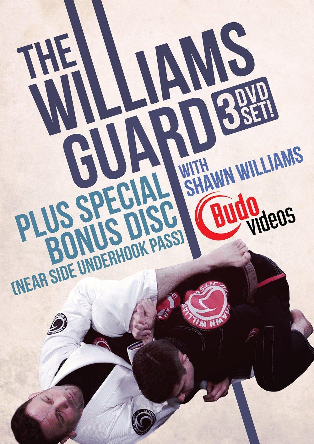 シェーン・ウィリアムス ウィリアムス・ガード 3枚組 ブラジリアン柔術教則DVD