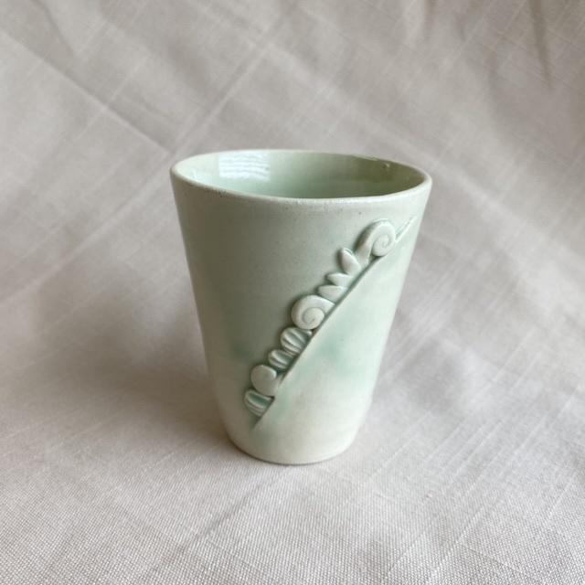 芽吹き模様のコップ / コップ(ミニグラス)