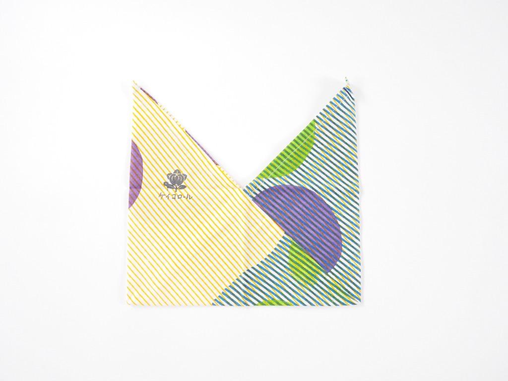 ケイコロール  おにぎり袋 「縞と中丸と三丸」